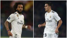 Marcelo o Reguilón, la gran duda de Solari para el Espanyol – Real Madrid. (Getty)