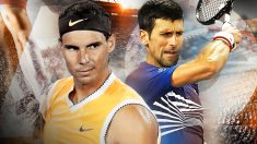 Nadal y Djokovic juegan la final del Open de Australia este domingo.