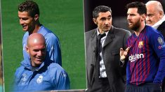 Valverde copia el plan de Zidane.