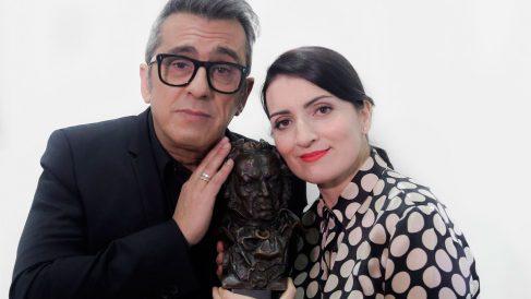 El matrimonio de cómicos Andreu Buenafuente y Silvia Abril serán los presentadores de la gala de los Premios Goya 2019. Foto: Europa Press
