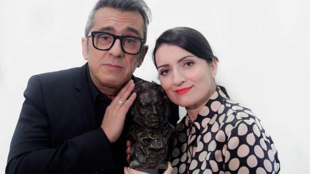 buenafuente-silvia-abril-premios-goya-2019-presentadores