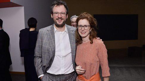 Iwan y Manuela Wirth, galeristas de Hoauser & Wirth. Foto. Getty.