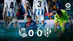 Real Sociedad y Huesca empataron (0-0) en Anoeta.
