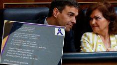 La controvertida campaña ha sido impulsada por una responsable del Ministerio de Igualdad en Melilla.