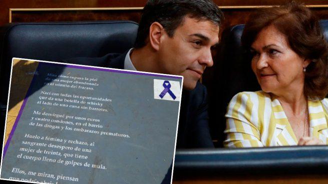 """La campaña de género del Gobierno de Sánchez en Melilla: «Me desvirgué por unos euros y 4 condones"""""""