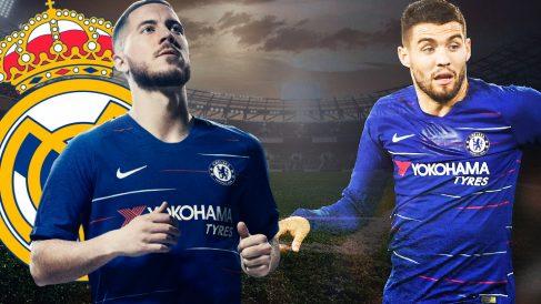 Hazard y Kovacic podrían verse afectados por la sanción de la FIFA al Chelsea.
