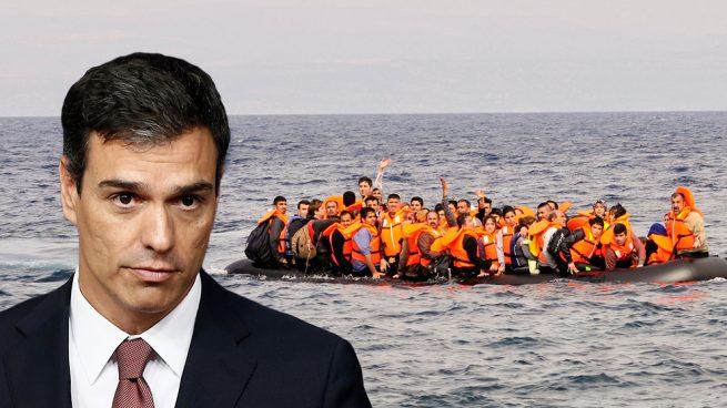 Las llegadas diarias de ilegales llegaron a quintuplicarse con Sánchez en La Moncloa