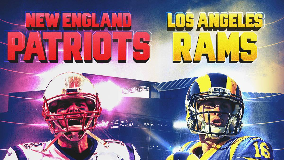 La Super Bowl 2019 enfrentará a Los Ángeles Rams y a New England Patriots (NFL).