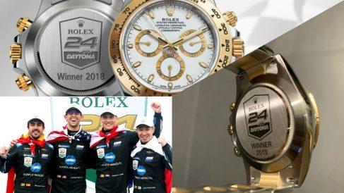Fernando Alonso se lleva un Rolex exclusivo por ganar las 24 Horas de Daytona.