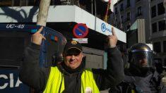 Tito Álvarez, líder de Elite Taxi Barcelona, frente a la calle Génova