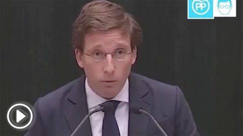 José Luis Martínez-Almeida, portavoz del PP en le Ayuntamiento de Madrid