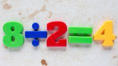 Guía de pasos para enseñar a dividir