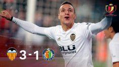Copa del Rey: Valencia – Getafe | Partido de fútbol hoy, en directo.