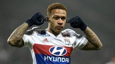 Memphis Depay es la estrella del Lyon. (AFP)