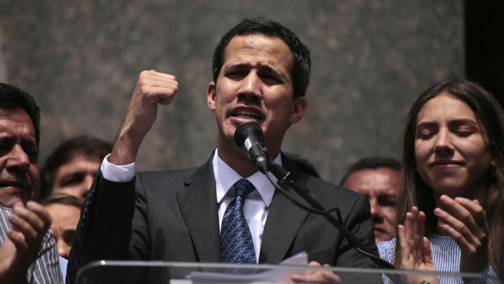 Juan Guaidó. Foto: Europa Press