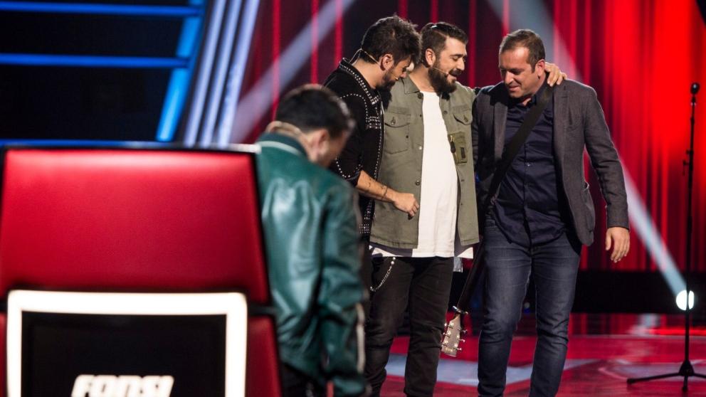 Javier Moya nuevo concursante de 'La Voz'. (Foto: Antena 3)
