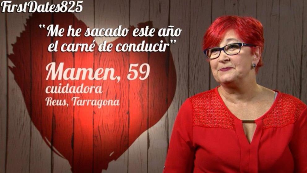 Mamen nueva comensal de 'First Dates'
