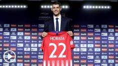Morata lucirá el dorsal 22 en su nueva etapa en el Atlético. (Getty)