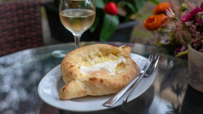 Pan relleno de Camembert