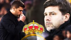 Pochettino, entrenador del Tottenham.