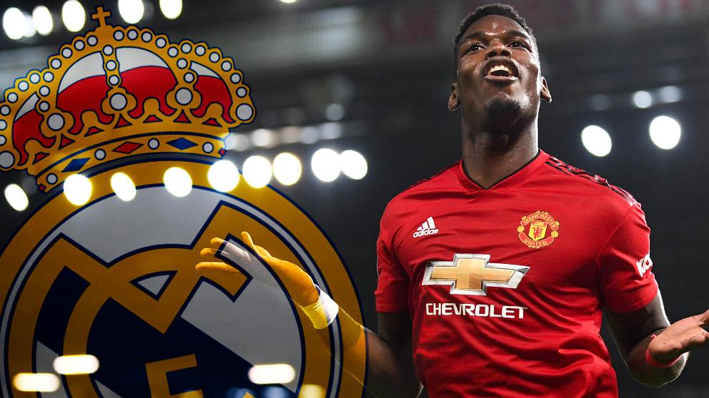 Pogba forzará aún más para irse al Real Madrid si el United no entra en Champions.