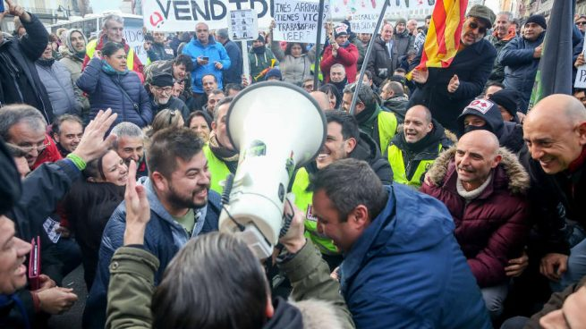 El coste de la huelga: los taxistas han perdido 20 millones de euros y 130 vehículos
