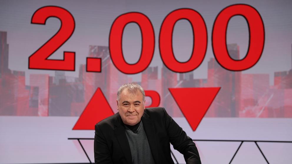 Antonio García Ferreras sigue al frente de 'Al Rojo Vivo'