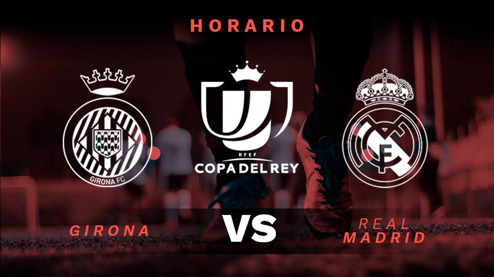 Girona – Real Madrid: partido de vuelta de los cuartos de final de la Copa del Rey.