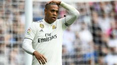 Mariano, durante un partido del Real Madrid. (AFP)