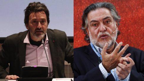 Mauricio Valiente y Pepu Hernández. (Fotos. Madrid : EFE)