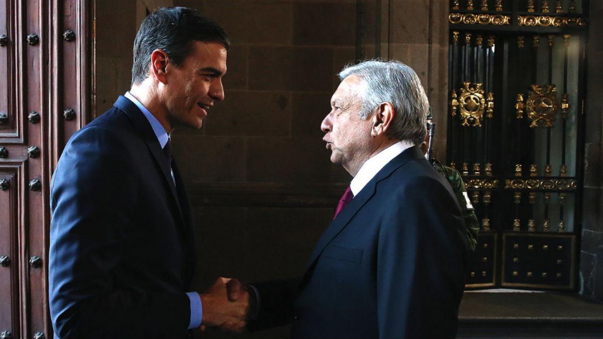 Pedro Sánchez en su visita a México (EP).