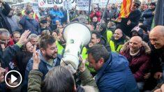 Protesta taxistas Madrid