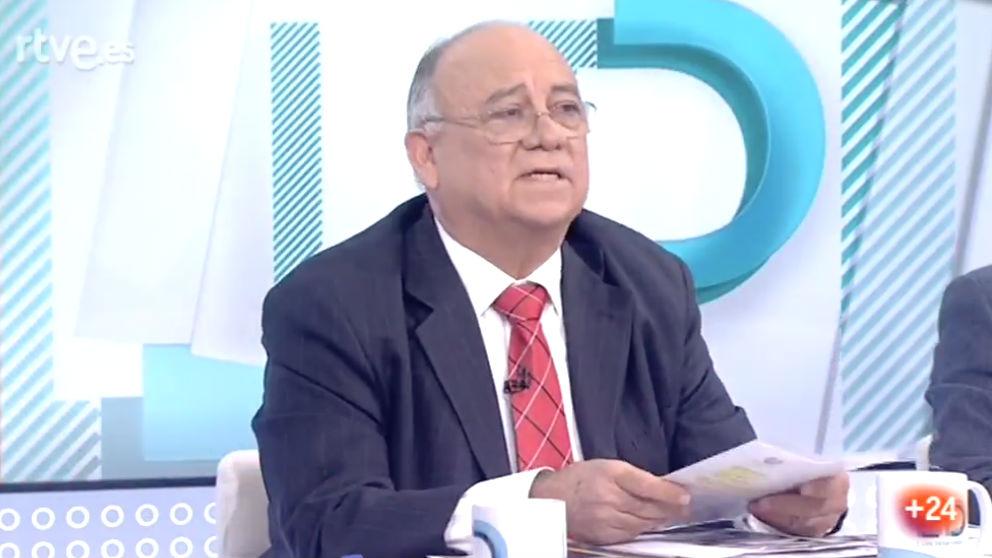 El embajador de Venezuela en España, Mario Isea, en 'Los desayunos de TVE'