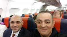 'Tito' Álvarez y Elpidio Silvia viajan a Bruselas para trasladar las protestas de los VTC.