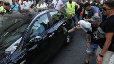 Agresiones a Uber en Barcelona