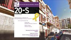 El Centro Cultural Nicolás Salmerón y el cartel el evento.