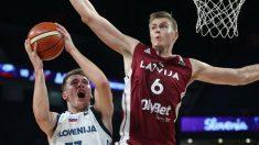 Doncic y Porzingis se enfrentaron en el EuroBasket de 2017.