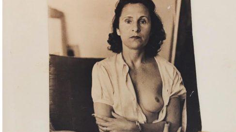 Retrato de Gala Éluard Dalí en la casa de Port Lligat. Foto. María Villardón.