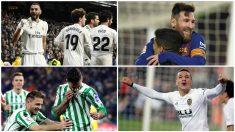Estos son los cuatro equipos que estarán en el sorteo de semifinales de la Copa del Rey.