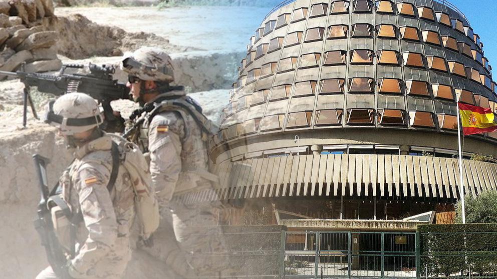 El Tribunal Constitucional revisará el incidente de nulidad de militares españoles en el Supremo por los despidos de mayores de 45 años.