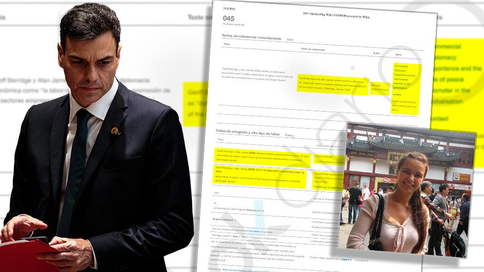 El presidente del Gobierno calcó en su tesis un texto escrito por la investigadora rumana Nicoleta Vasilcovschi.