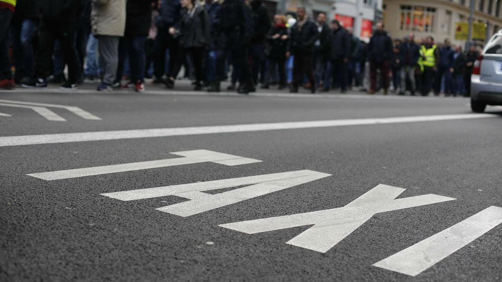 Parada de taxi. Foto: Europa Press