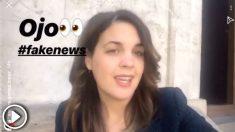 La candidata del PSOE al Ayuntamiento de Valencia, Sandra Gómez, mienta a sus seguidores tras la noticia publicada por OKDIARIO