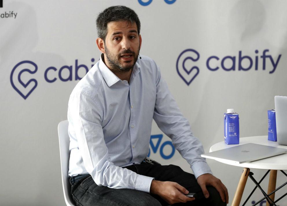 Vicente Pascual, director general de Cabify