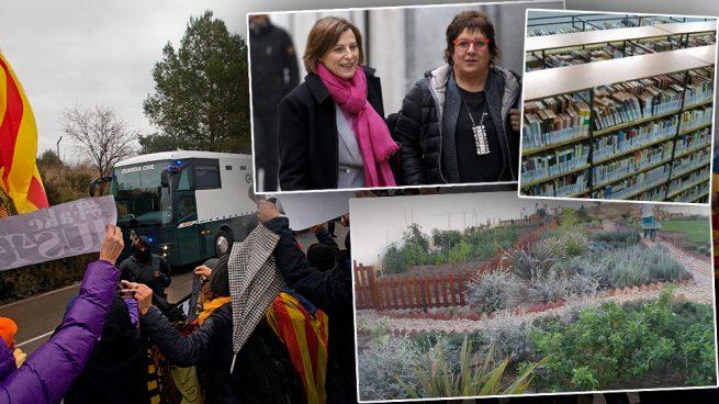 Forcadell y Bassa ingresan directamente en el módulo VIP de Alcalá Meco, con jardines y biblioteca