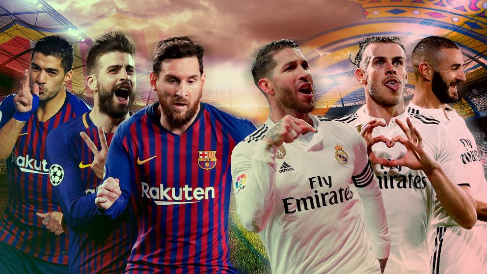 La cuentas pendientes de Real Madrid y Barcelona en los Clásicos.