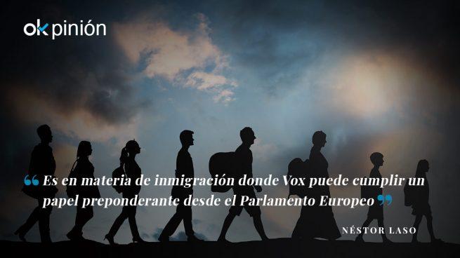 Elecciones Europeas, VOX y la inmigración