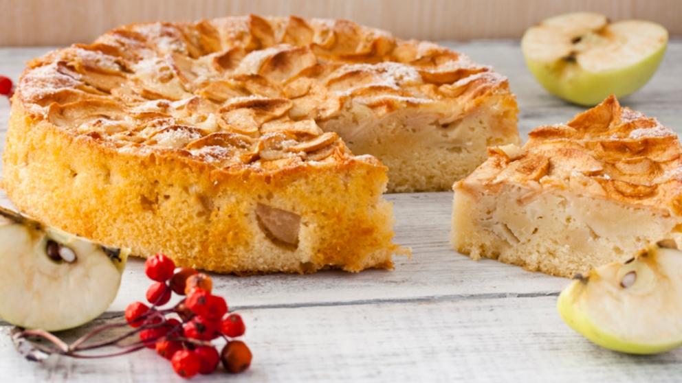 Receta de Tarta de manzana normanda