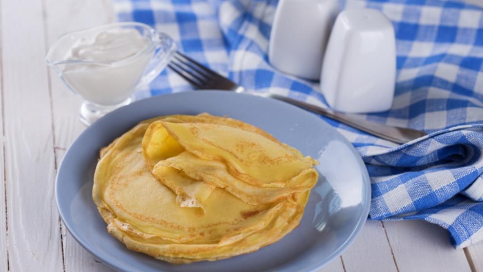 Receta de crepes sin gluten para celíacos