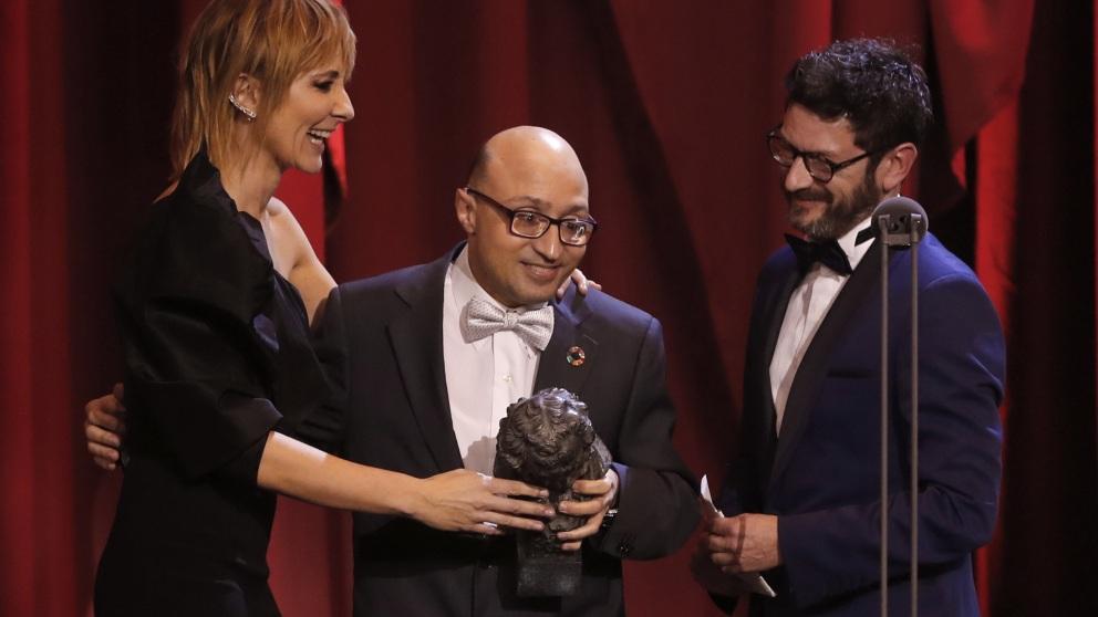 Jesús Vidal, mejor actor revelación de los Goya 2019 por 'Campeones'